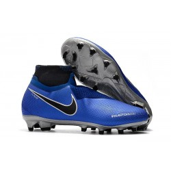 Nike Phantom Vision Elite DF FG Boots Blue Black