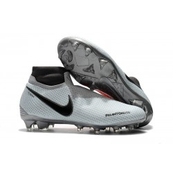 Nike Phantom Vision Elite DF FG Boots Grey Black
