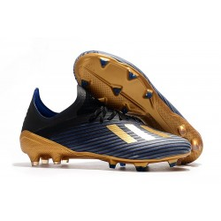 adidas X 19.1 FG Firm Ground Shoes Blue Core Black Gold