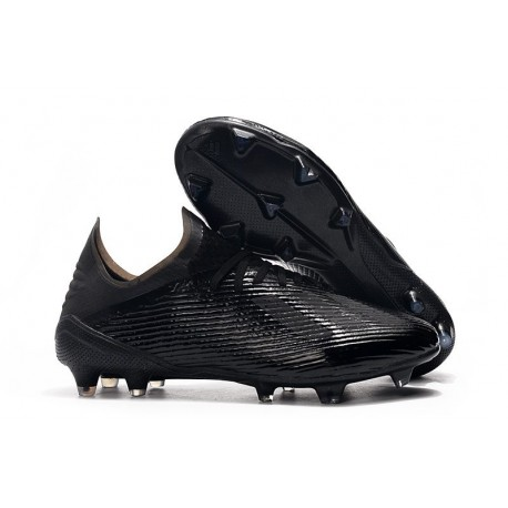 adidas X 19.1 FG Firm Ground Shoes All Black