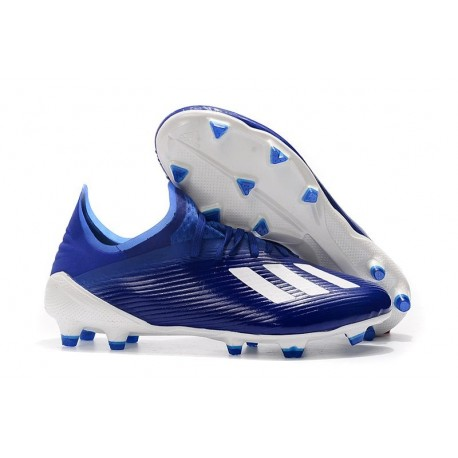 adidas X 19.1 FG Firm Ground Shoes Blue White