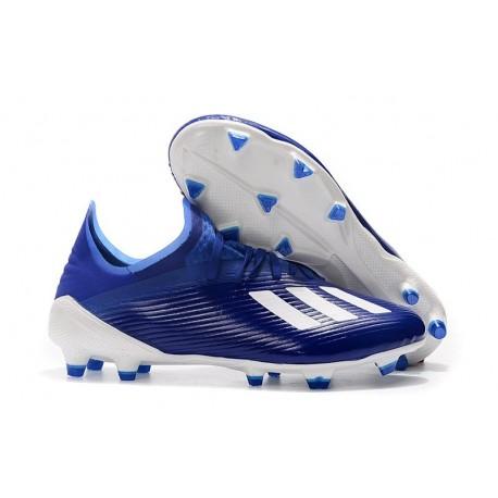 adidas X 19.1 FG Firm Ground Shoes Blue White