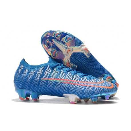 Nike Mercurial Vapor 13 Elite FG Cleat Blue Red