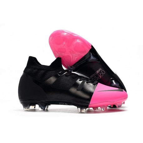 New Nike Mercurial Superfly GS360 Soccer Boots - Black Pink