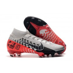 Nike Mercurial Superfly 7 Elite FG NJR Chrome/Black/Red Orbit/Platinum Tint