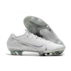 Nike Mercurial Vapor 13 Elite FG Cleat White Pack