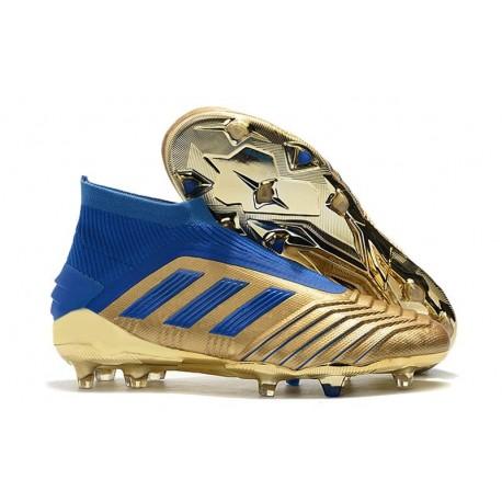 adidas Predator 19+ FG Firm Ground Golden Blue