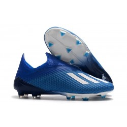 adidas X 19+ FG New Soccer Boots Blue White