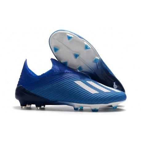 adidas X 19+ FG New Soccer Boots Blue White