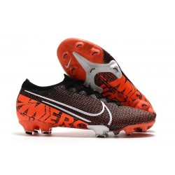 Nike Mens Mercurial Vapor XIII Elite FG Boot Black White Hyper Crimson