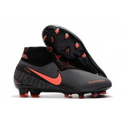 News Nike Phantom Vision Elite DF FG Boots Dark Grey/Bright Mango/Black