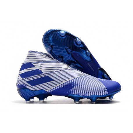 Adidas Nemeziz 19+ FG New Boots Blue White
