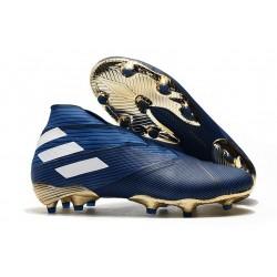 New adidas Nemeziz 19.1 FG Cleat Blue White