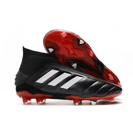 adidas Predator 19+ FG Firm Ground Core Black
