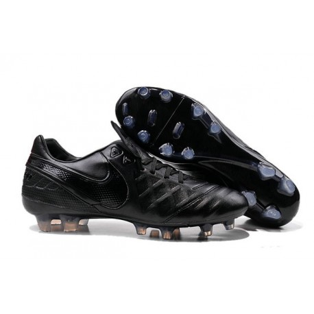 Nike Tiempo Legend VI FG Kangaroo Leather Boots All Black