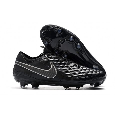 Nike Tiempo Legend 8 Elite FG Firm-Ground Boot Black