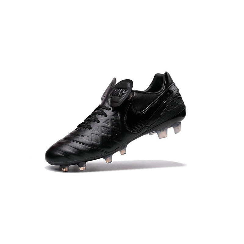 a82b4ebab Nike Tiempo Legend VI FG Kangaroo Leather Boots All Black