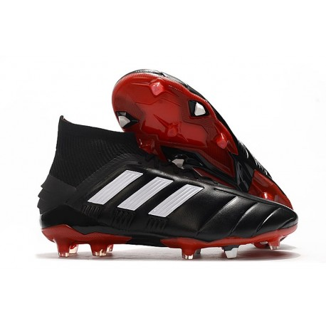 adidas Predator Mania 19.1 FG ADV Firm Ground Boots -Core Black White