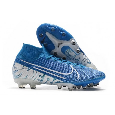 Nike Mercurial Superfly VII Elite AG-PRO Blue White