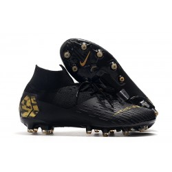 Nike Mercurial Superfly VII Elite AG-PRO Black Golden