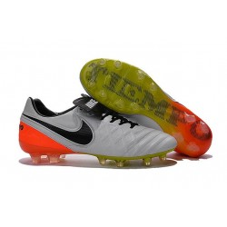 Nike Tiempo Legend 6 FG ACC Soccer Cleats White Black Orange