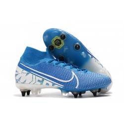 Nike Mercurial Superfly 7 Elite SG-PRO AC New Lights Blue White