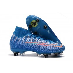 Nike Mercurial Superfly 7 Elite SG-PRO AC Blue White