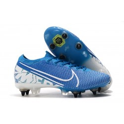 Nike Mercurial Vapor 13 Elite SG-Pro Anti-Clog New Lights Blue White