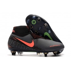 Nike Phantom Vision Elite DF SG Pro AC Dark Grey Bright Mango