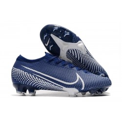 Nike Mercurial Vapor 13 Elite Firm Ground Blue White