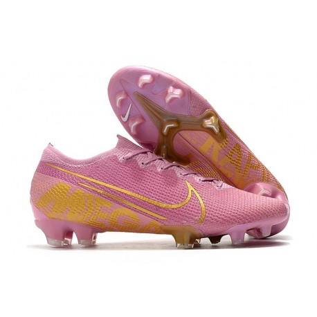 Nike Mercurial Vapor 13 Elite Firm Ground Pink Gold