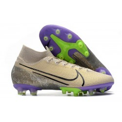 Nike Mercurial Superfly VII Elite AG-PRO Desert Sand Black Psychic Purple