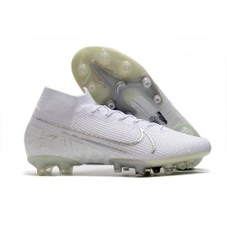 Nike Mercurial Superfly VII Elite AG-PRO White Silver