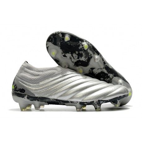 News Adidas Copa 20+ FG Boot Silver Solar Yellow