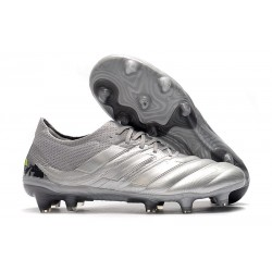 Adidas Copa 20.1 FG Soccer Cleat Silver Solar Yellow