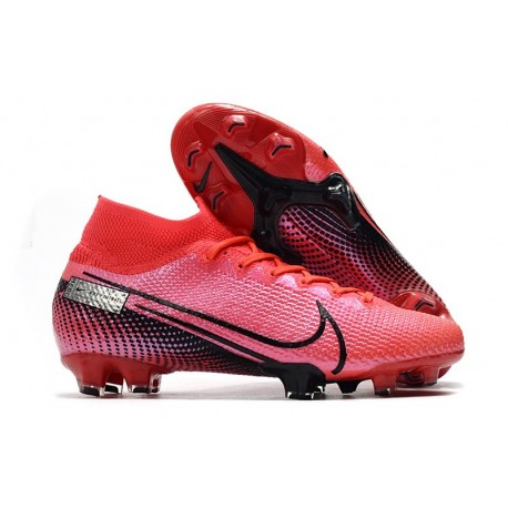Top Nike Mercurial Superfly VII Elite FG Laser Crimson Black