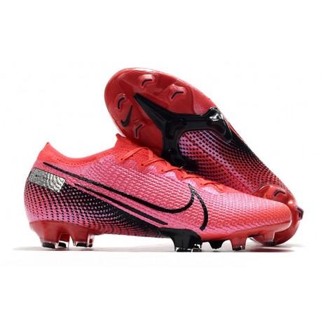 Nike Mercurial Vapor 13 Elite Firm Ground Laser Crimson Black