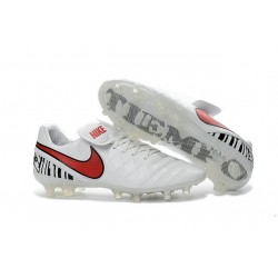 Nike Tiempo Legend 6 FG ACC Soccer Cleats - White Red