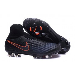 Nike Magista Obra II Men's Firm Ground Football Boots Black Orange