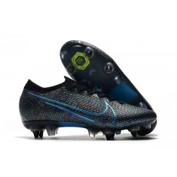Nike Mercurial Vapor 13 Elite SG-Pro Anti-Clog Black Blue