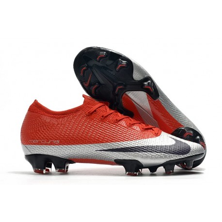 Nike Mercurial Vapor 13 Elite Firm Ground Future DNA Red Silver Black