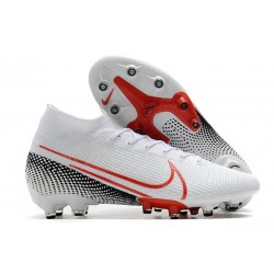 Nike Mercurial Superfly VII Elite AG-PRO White Red