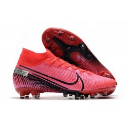 Nike Mercurial Superfly VII Elite AG-PRO Laser Crimson Black