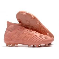 New adidas Predator 18.1 FG Soccer Shoes Pink