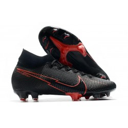 Nike Mercurial Superfly 7 Elite FG News Cleat Black Red