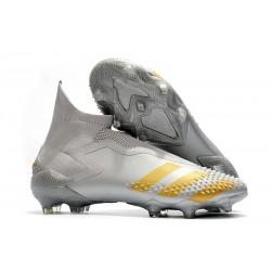 Adidas Predator Mutator 20+ FG Cleats Grey Gold