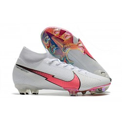 Nike Mercurial Superfly 7 Elite FG News Cleat White Flash Crimson