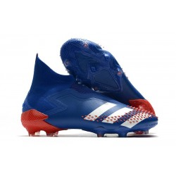 New Adidas Predator Mutator 20+ FG Tormentor - Royal Blue White Action Red
