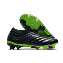 News Adidas Copa 20+ FG Boot Dark Motion - Core Black Signal Green