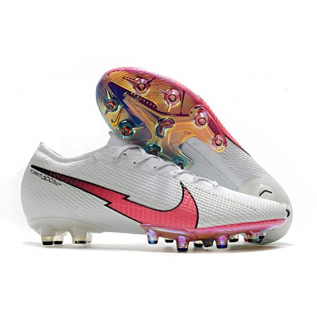 Nike Mercurial Vapor XIII Elite AG Shoes White Red Blue